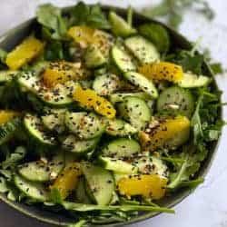 Cucumber Orange Salad