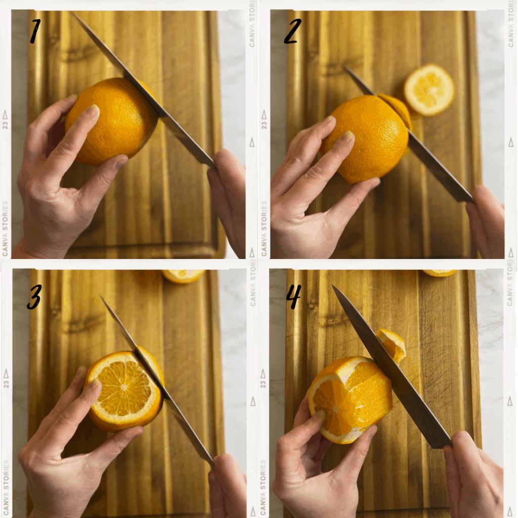 How to segment an orange