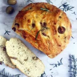 Rosemary and Olive Bread
