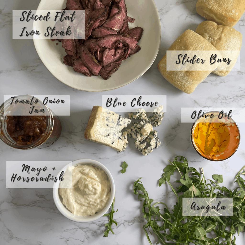 Steak Slider Ingredients
