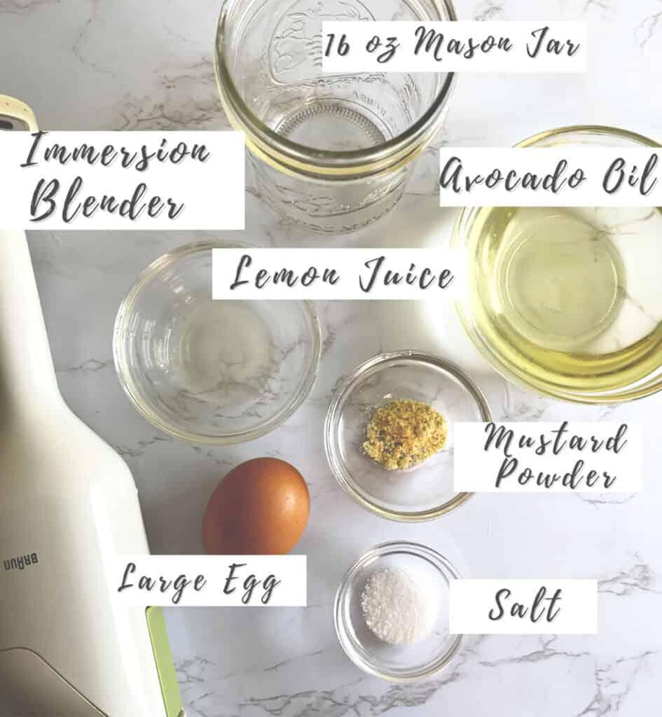 Whole30 Mayonnaise Ingredients